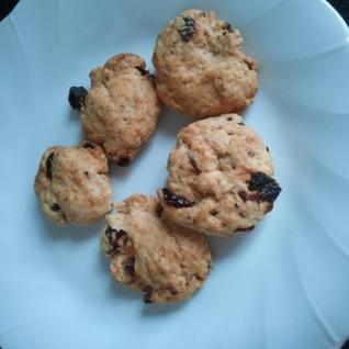 きな粉とレーズンのクッキー