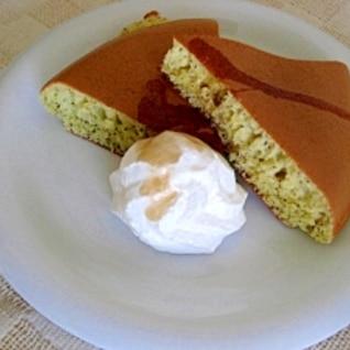 紅茶のホットケーキ
