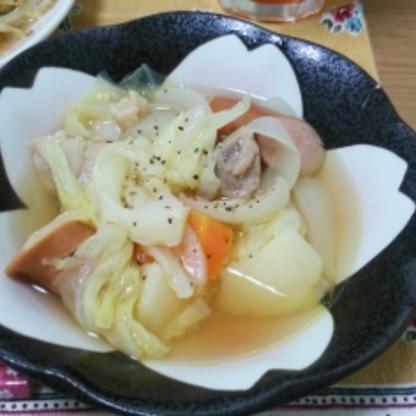 とにかく野菜が美味しかったです!!