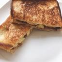 とろける美味しさ!小倉バナナクリチホットサンド