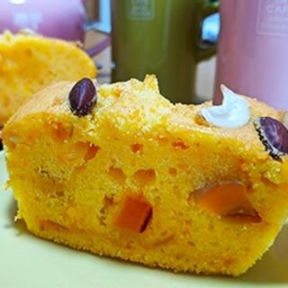 バターナッツかぼちゃのしっとりパウンドケーキ♪