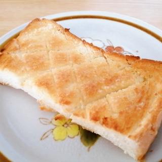 オリーブオイルで☆レモン風味のシュガートースト