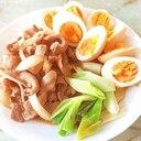 豚バラアレンジ!豚バラと卵のチャーシュー仕立て♪