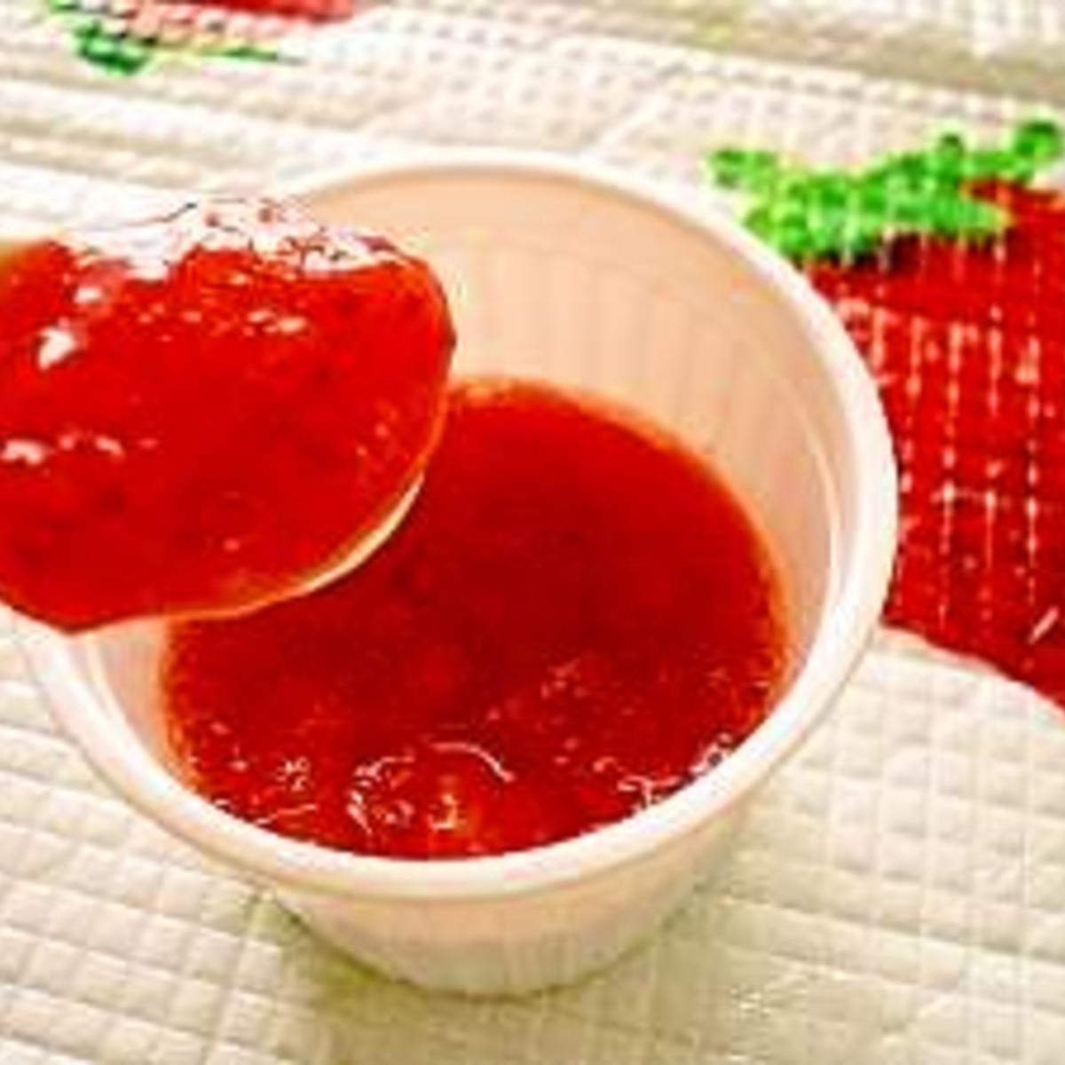イチゴ ジャム 作り方 時短