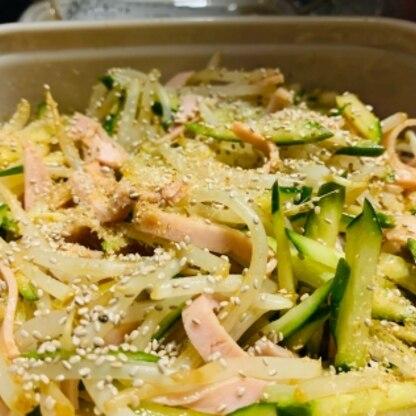 ちょうど冷蔵庫に食材があったので⭐︎ おかげで野菜の副菜を増やすことが出来ました!! ありがとうございます!