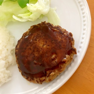 豆腐のハンバーグ