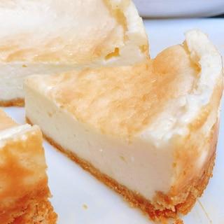 <卵・生クリームなし>しっとりベイクドチーズケーキ