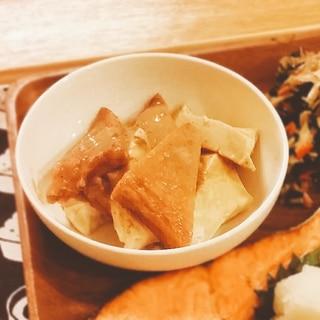 豆腐とさつま揚げの味噌煮【160kcal 脂7g】