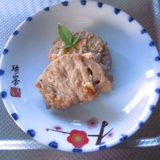 さっくりれんこんとチーズのこってり肉巻き(静岡産)