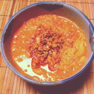 簡単!ごまたっぷり♡濃厚担々麺
