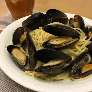 コストコのムール貝パスタ