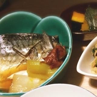 ごはんが進む!疲労回復に鯖と葱の梅煮