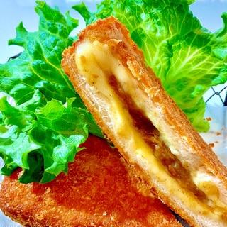 リメイク^_−☆トロ〜リチーズinカレーパン♡