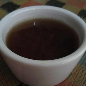 コーヒーみたいな☆麦茶の寒天ゼリー