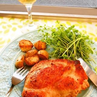 ☺簡単♪時短で作れる皮パリパリの鶏肉のコンフィ☺