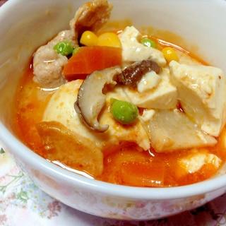 お野菜たっぷり♡ごま豆乳スンドゥブ