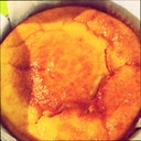 P's亭*マーマレードでスフレチーズケーキ