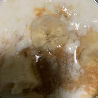 バナナ信玄餅ヨーグルト