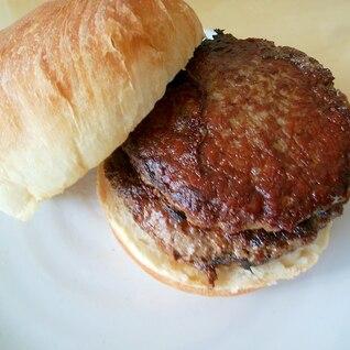 【某チェーン店風】シンプルなハンバーガー