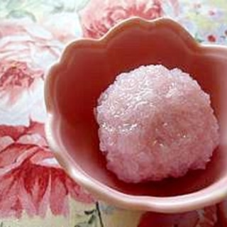 一口桜餅~★