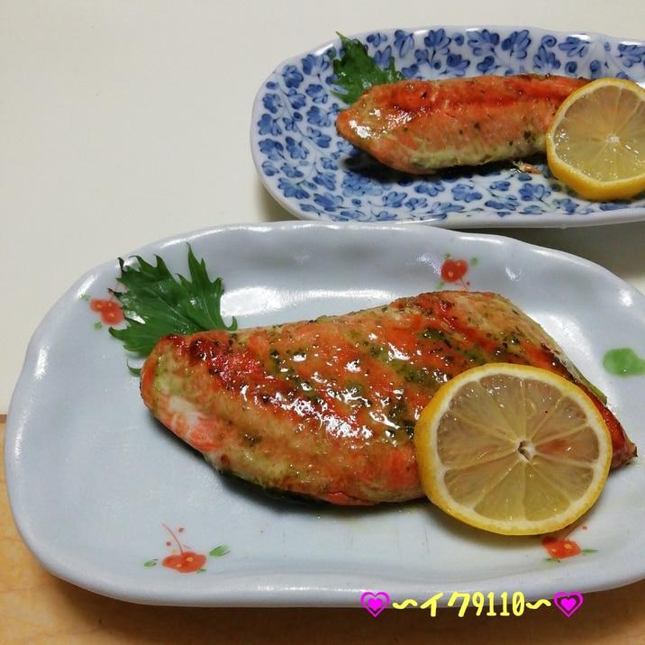 簡単!鮭のバジルソテー