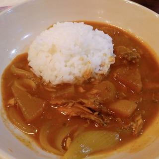 ブリ大根リメイク♪旨味たっぷり和風curry☆