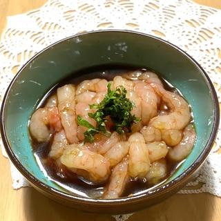 甘海老の漬け☆ガーリック風味