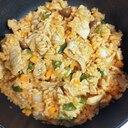 生姜焼き用味付き肉で♪こくうまケチャップライス