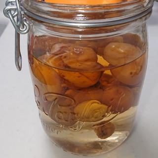 梅から自家製梅酒