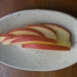 不器用さんでも簡単☆りんごの木の葉切り