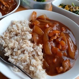 ご飯と混ぜるだけ!レンチンで簡単オートミールご飯!