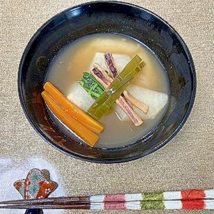 我が家のお雑煮(山口県)