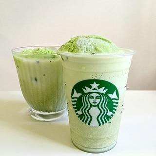 アイス 抹茶 ラテ♪♪