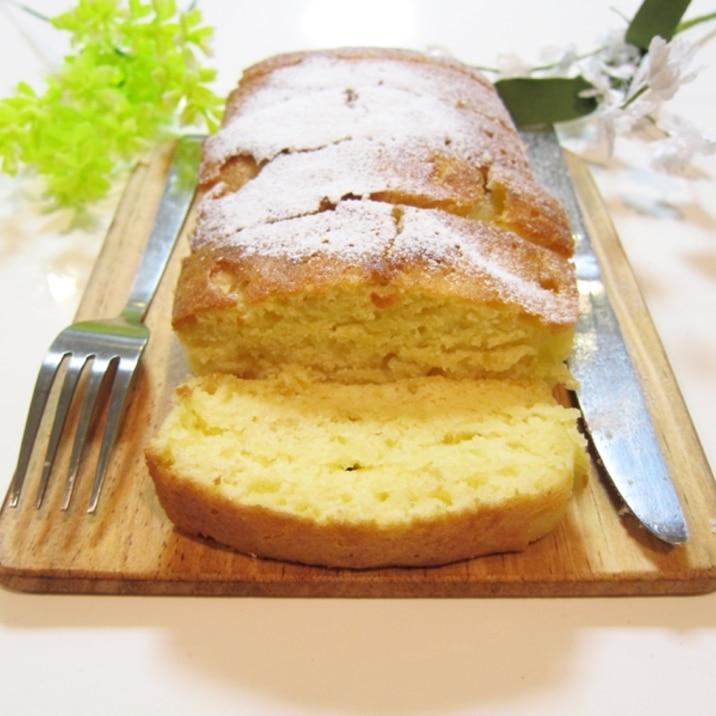ジンジャーシロップの生姜でパウンドケーキ
