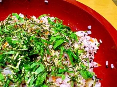 黒米いりのちらし寿司