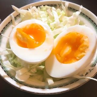 絶妙!失敗なしの半熟ゆで卵