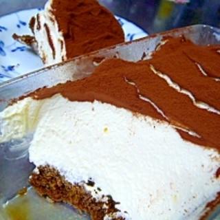 ちょっぴり濃厚☆クリームチーズで簡単ティラミス☆