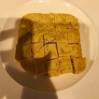離乳食おやつに!かぼちゃとバナナのおから蒸しパン