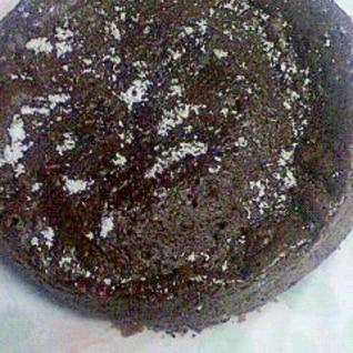 簡単レンジで7分・チョコレートケーキ