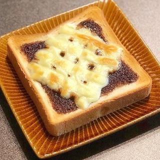 はまります!チョコチーズトースト