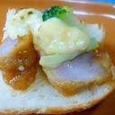♥ 酢豚の残りで! タルタル酢豚トースト ♥