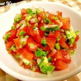 野菜たっぷり♪サルサソース