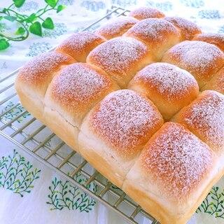 基本のちぎりパン(一次発酵までHB使用)