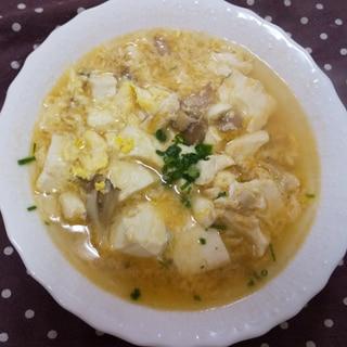 豆腐の酸辣湯風