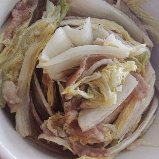 レンジで白菜豚バラミルフィーユ