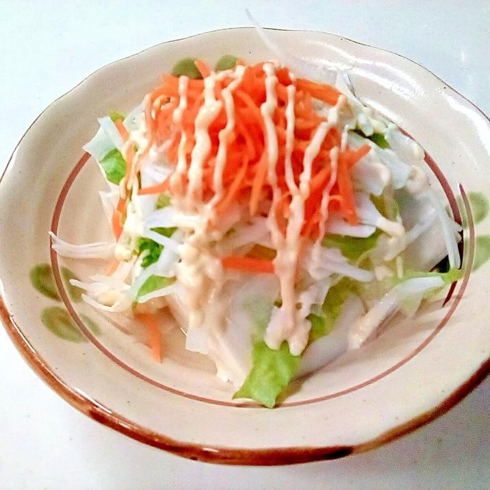 野菜たっぷり♪我が家の「豆腐とツナのサラダ」