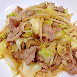 ご飯に合う☆豚肉とキャベツの焼肉のたれ炒め