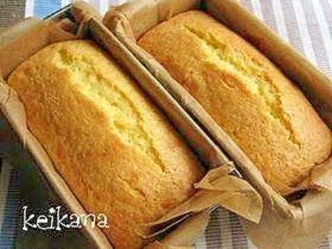 ホットケーキミックスと豆腐で超簡単ケーキ