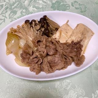 ♡お肉柔らか❣️すき焼き風♪肉豆腐♡
