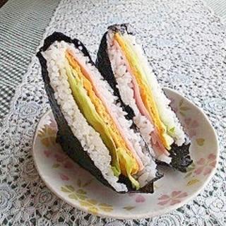 かんたん美味しい❤寿司サンド